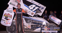 Jason Johnson gains third win of the season at ASCS Lucas Oil National Series at I-30 Speedway