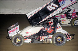The sweep at the Northwest Fred Brownfield Memorial gave Jason Johnson his 46th career ASCS National triumph.