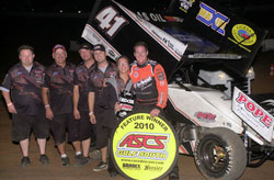 After a huge Labor Day weekend that saw the JJR team earn two wins and a third, Jason Johnson now sits comfortably atop the ASCS National points ranking.