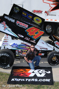 Jason Johnson understands that using K&N products continues to give him the added advantage in the hostile Sprint Car racing environment.
