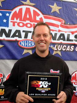 NHRA Pro Stock Driver Jason Line