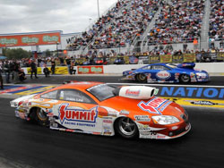 Jason Line at the Fourth Annual O'Reilly Auto Parts NHRA Nationals.