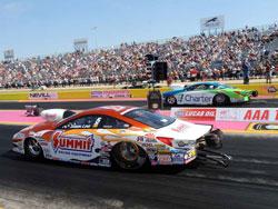Jason Line's Pro Stock Summit Racing Pontiac GXP