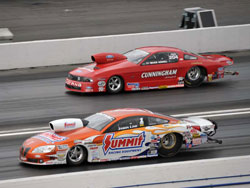 Jason Line's 6.534 pass was the quickest Pro Stock pass of the entire event.