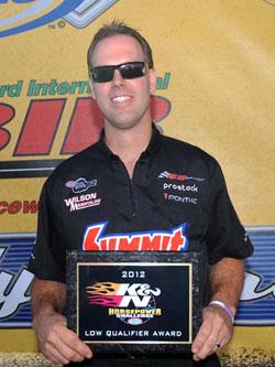 NHRA Pro Stock Racer Jason Line