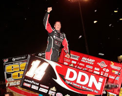 Winning the Gold Cup is by far the biggest win in his sprint car career to this point says Meyers.