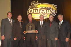 Jason Meyers and his Elite Racing team are the first Californian team to ever claim the World of Outlaws Championship.