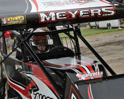 Jason Meyers captured his first World of Outlaws Championship in 2010