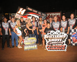 Elite Racing has 3 World of Outlaws Feature Wins this season