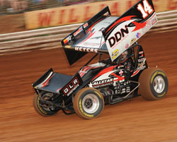 Meyers and his Elite Racing team are looking for their first Knoxville Nationals win this weekend