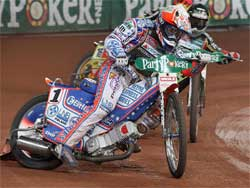 Jason Crump is determined to take back the championship in 2008, photo by Mike Patrick