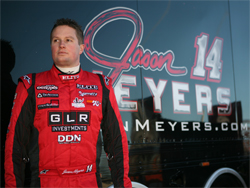 Jason Meyers and the Elite Racing Team will next race at The Dirt Track at Las Vegas Motor Speedway in Nevada