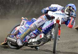 World Speedway Grand Prix Champion Jason Crump is in third place after six rounds