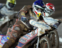 Jason Crump hopes his motorcycle is the fastest to further increase his lead over the opposition