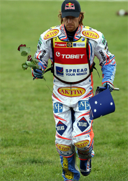 Australian Rider Jason Crump has a record-breaking 21 Grand Prix wins and two World Speedway Grand Prix Championships