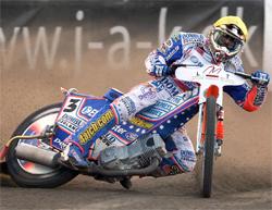 World Speedway Grand Prix rider Jason Crump will next race at Malilla in Sweden