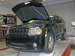 Jeep Grand Cherokee on K&N dyno