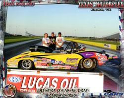 NHRA Lucas Oil Drag Racing Series' Jeff Lopez