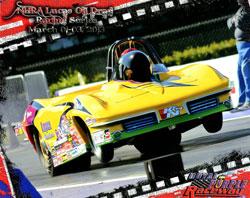 NHRA Lucas Oil Drag Racing Series Super Gas Racer Jeff Lopez at Royal Purple Raceway