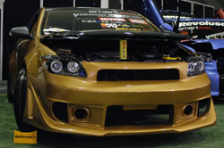 2006 Scion tC featured by Tokico at SEMA