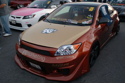 Maldonado's Company Seven42 brought the 2006 Scion tC to SEMA