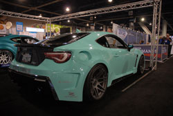 Jeff Maldonado's Scion FRS at SEMA 2013