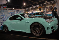 2013 Scion FRS featured at the SEMA Show