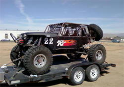 Damen Jefferies will compete for the first time at King of the Hammers in the California desert