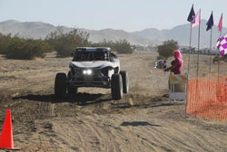 Shelby Reid made it back-to-back wins at this year's 6th Annual Powder Puff Off-Road Race for the Cure.