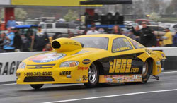 Jeg Coughlin earns number one qualifying spot for NHRA Pro Stock
