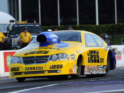 Jeg Couighlin marked the 18th Pro Stock pole of his stellar career after his win at Royal Purple Raceway in Baytown, Texas
