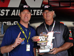 K&N Horsepower Challenge champ Jeg Coughlin secured the NHRA Pro Stock pole during 26th annual O'Reilly NHRA Spring Nationals