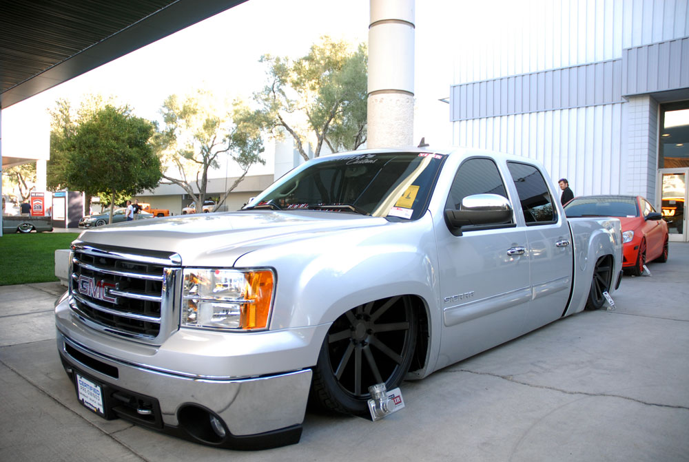 Gmc Single Cab Trucks >> Brian Jendro was Voted Into Trucking / Mini Truck Hall of Fame at 2013 SEMA