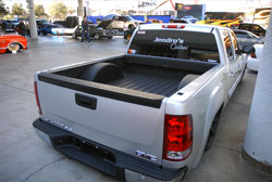 Jendro's Customs 2013 SEMA feature vehicle was this 2014 GMC Sierra pickup