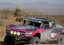 Hard core Race for the Cure course is miles of harsh bumps, rock and blinding dust and dirt