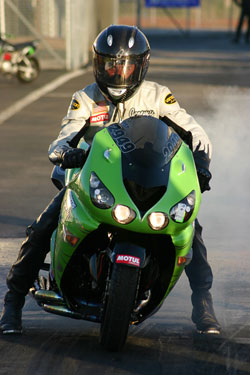 Teasley was able to nail his first Pro-Street win with sharp lights and a 7.40 in the final