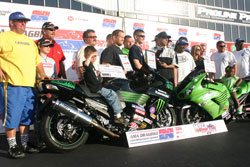 The rare pro-class double victory was good for Kawasaki, bike owner Roger Starrette, Adam Performance and Jeremy Teasley