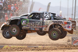 Jerry Daugherty and the Live Fast Play Dirty Motorsports Team