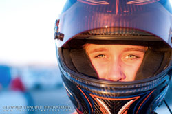 In her first season of Lucas Oil Modified Racing Jessica Clark has earned the respect she was looking for