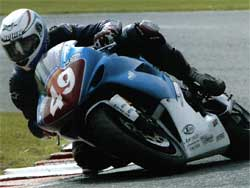 Jonathon Harrison at Brands Hatch