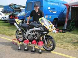 Jonathan Harris of Harrison Brothers Racing