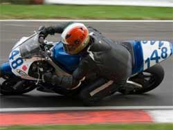Jonathon Harrison gains speed at Brands Hatch