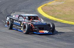Jim Mardis at LoanMart Arizona 100 Lucas Oil Modified race in Lake Havasu