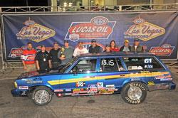 Jody Lang began racing his 1981 Malibu Wagon Stock Eliminator car in 1993