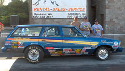 Jody Lang and his 1981 Malibu Wagon Stock Eliminator car have been winning together since 1993.