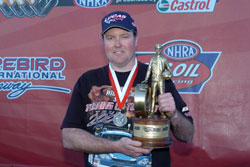 NHRA Stock and Super Stock Drag Racer Jody Lang