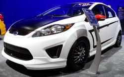 Ford Fiesta SE street tuner at SEMA 2012