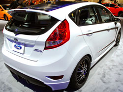 Ford booth SEMA 2012 had this Fiesta SE on display