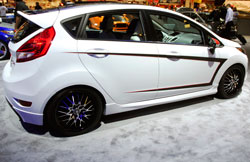 SEMA featured street tuned 2013 Ford Fiesta SE