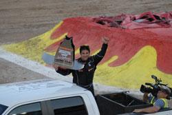 Bad Habit Monster Truck driver Joe Sylvester wins Monster Jam® Young Guns Shootout